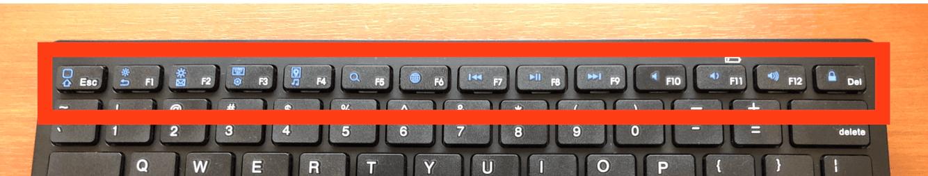 iPhoneと相性抜群なBluetoothキーボードはFnキーが便利!