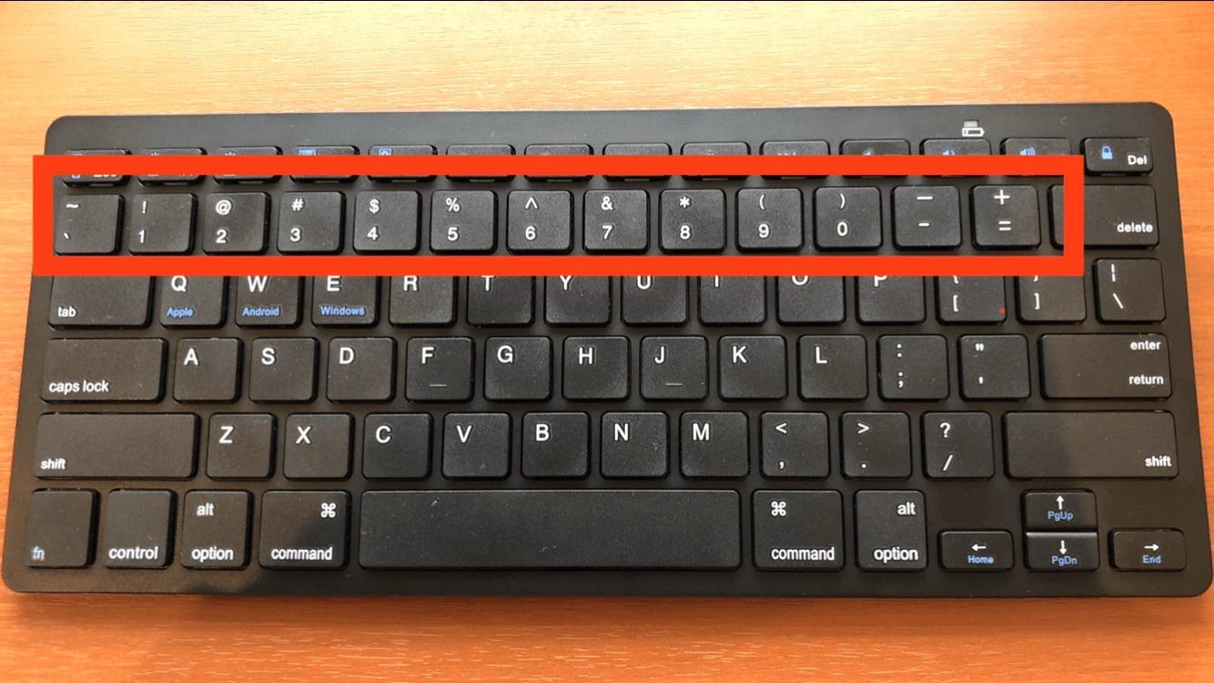 iPhoneと相性抜群なBluetoothキーボードの数字キー
