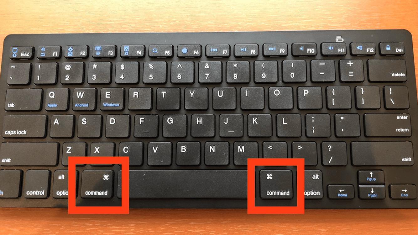 iPhoneとの相性抜群なBluetoothキーボードはCommandキーの位置が使いやすい!