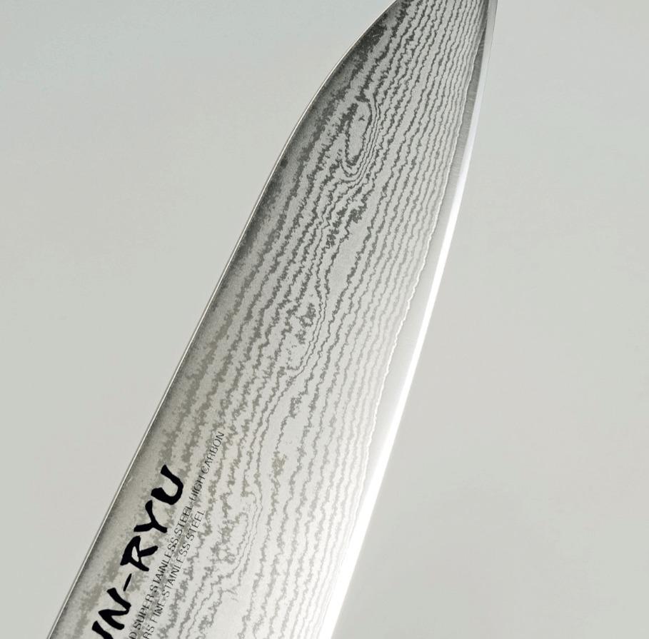 雲竜/UN-RYU は優美なダマスカス刃紋