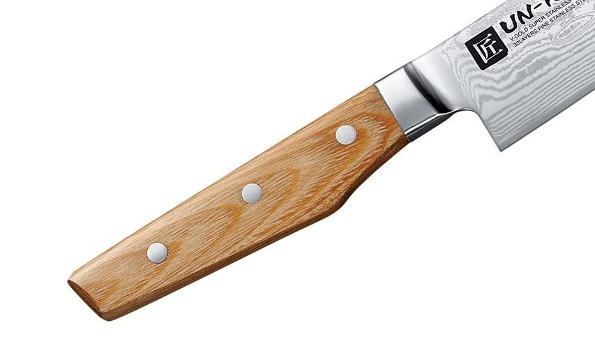 雲竜/UN-RYU のハンドルは木製