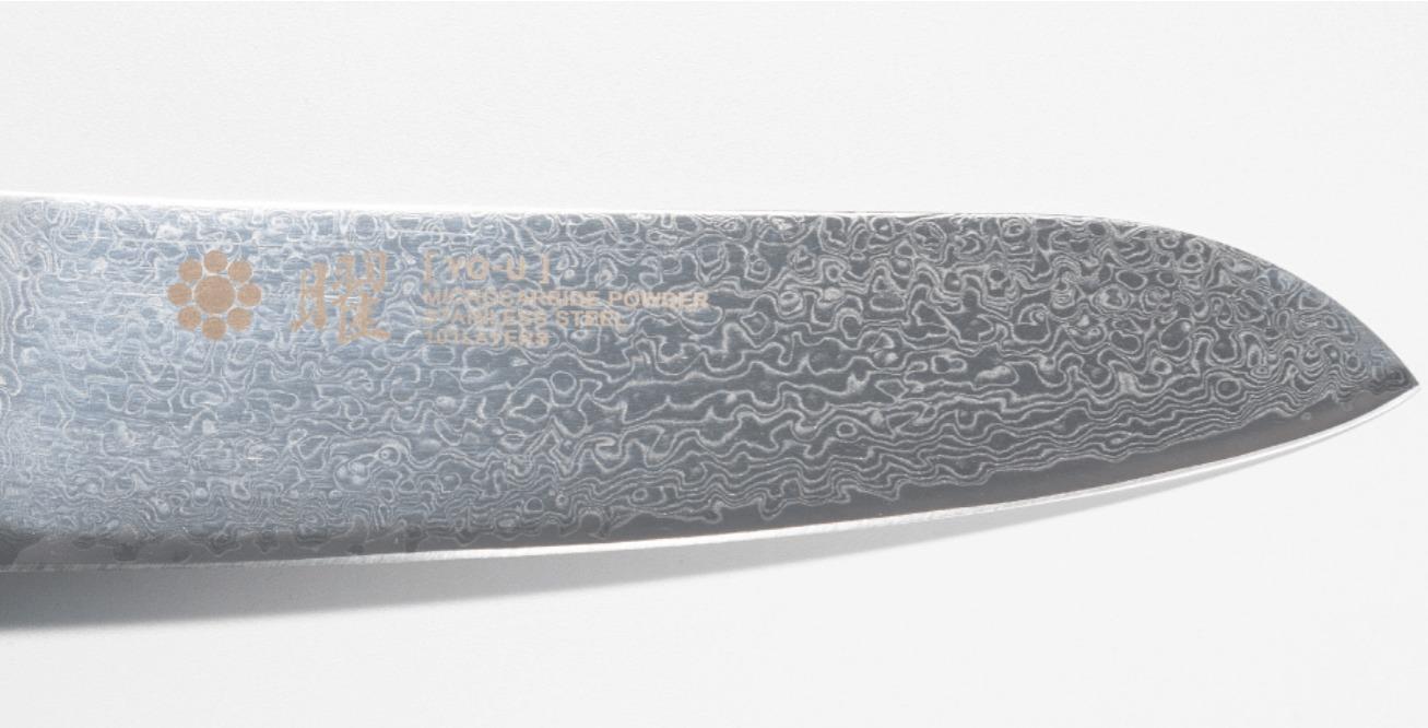 101層鋼 ダマスカス刃紋