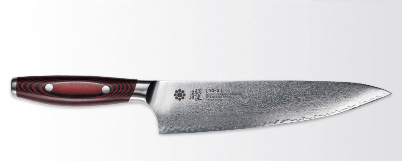 ヤクセル曜101層鋼シェフナイフ