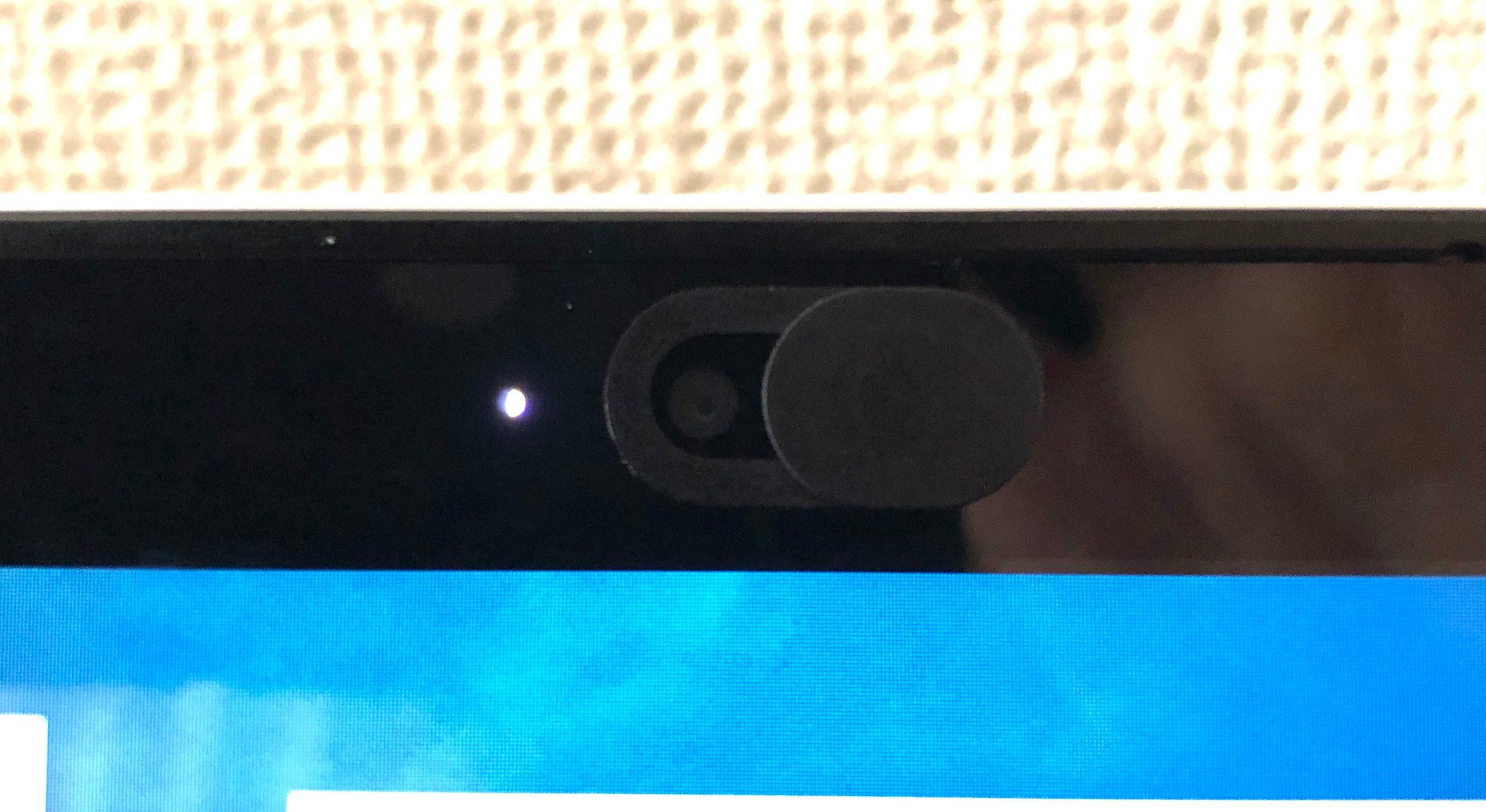 webカメラカバー