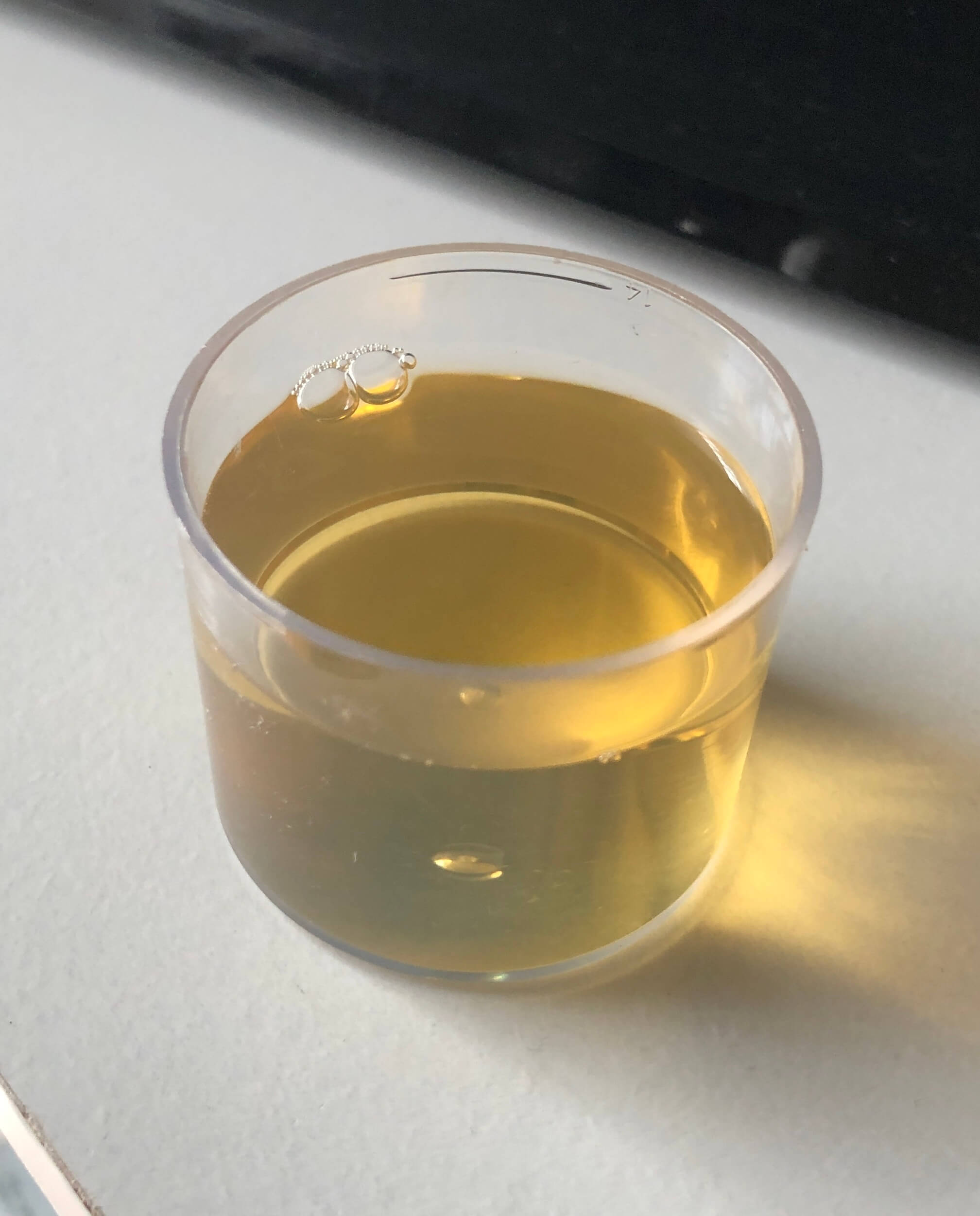 コバエ酢トラップ